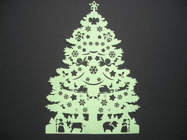 画像:こんなツリーも作れます