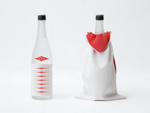 画像:レーザーカット日本酒ラベル