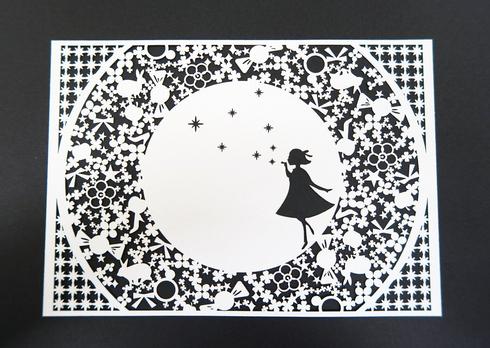 画像:シャボン玉カード