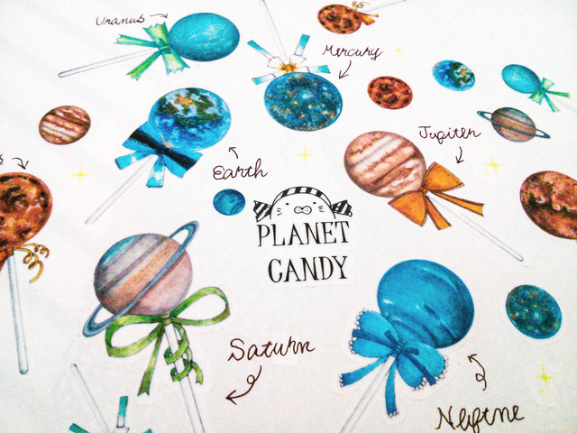 画像:惑星キャンディ