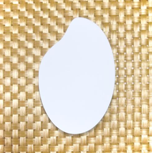 画像:お米の型抜き付箋